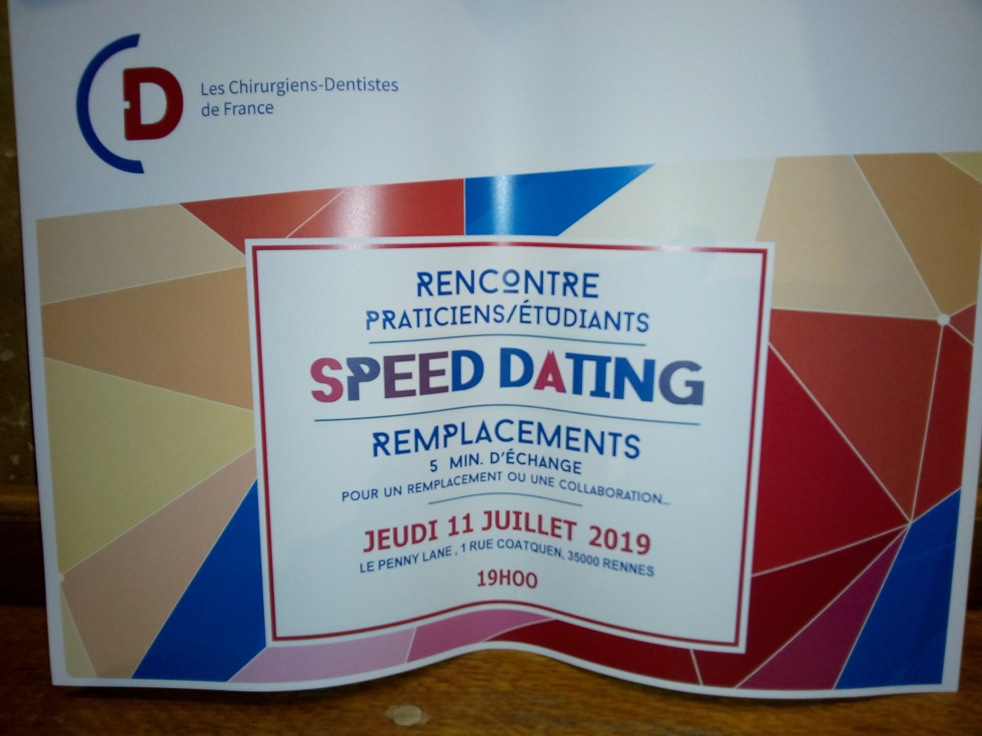 speed dating etudiant rennes